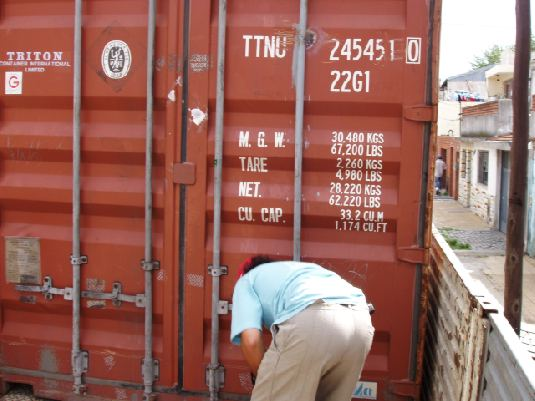 CONTAINER 20 pieds type B