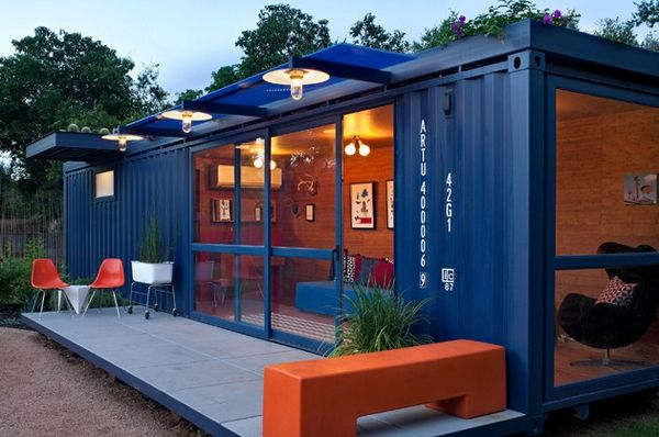 container house 40' pieds